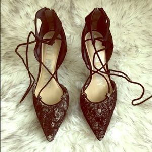 New Sam & Libby Lace Heels